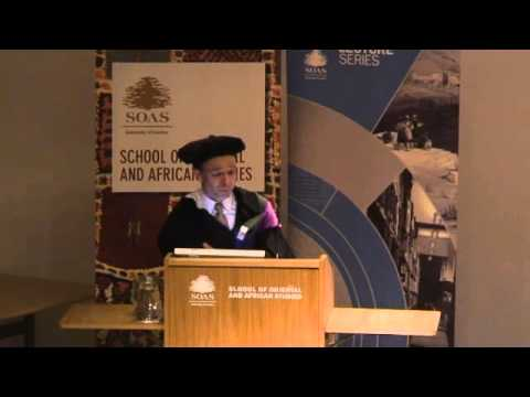 Prof. Philippe Cullet (SOAS) Inaugural Lecture - Reforming Water Law and Policy in India
