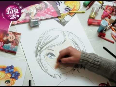 Pomysly Na Make Up Lilla Lou Kreatywne Kolorowanki Youtube