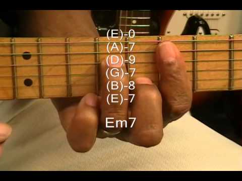 Bob Marley Style Jammin Electric Reggae Guitar Chord Form Tutorial #92 How To Play Chords