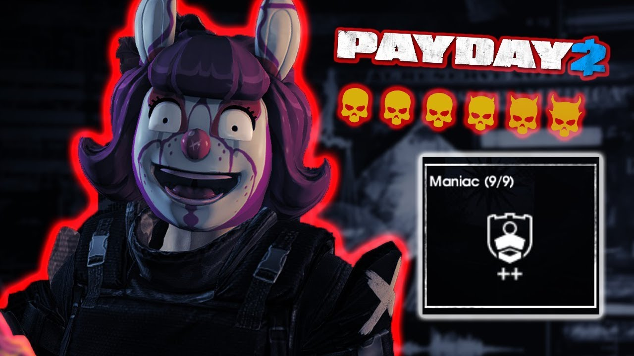 payday 2 one down maniac build death sentence viable. Black Bedroom Furniture Sets. Home Design Ideas