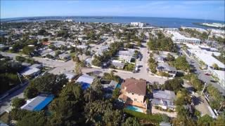 Q500 4K Drone flight over Key West Neighborhood
