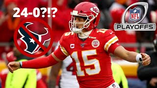 The Kansas City Chiefs Comeback and Shock the Houston Texans 51-31! AFC Divisional Round Recap!