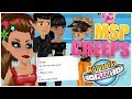 WEIRD GUY GIVES ME HIS SNAPCHAT ON MOVIESTARPLANET