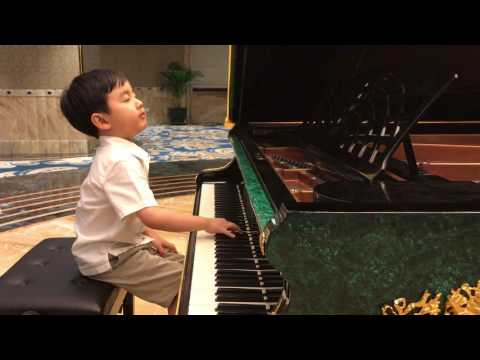 'Chopin Minute Waltz' (5 years 6 months)