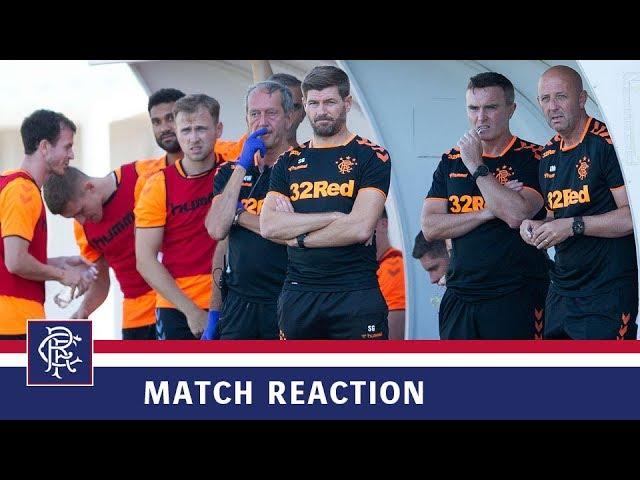 REACTION | Steven Gerrard | St Josephs 0-4 Rangers