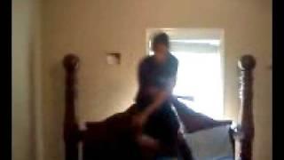 Stanky Legg (on California King Size Bed)