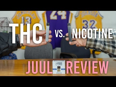 THE WEED JUUL POD REVIEW - YouTube