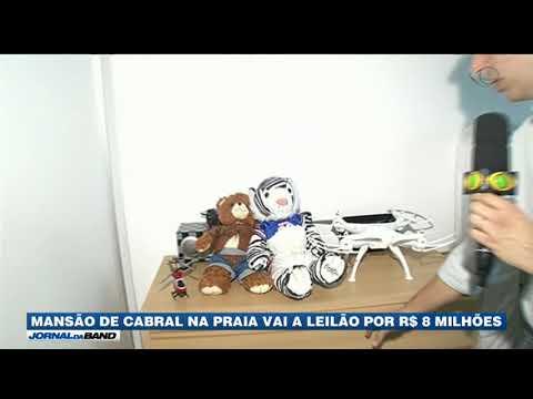 Mansão De Cabral Na Praia Vai A Leilão Por R$ 8 Milhões