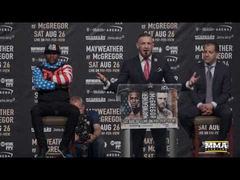 Conor McGregor Vows to KO Floyd Mayweather Inside Four Rounds - MMA Fighting