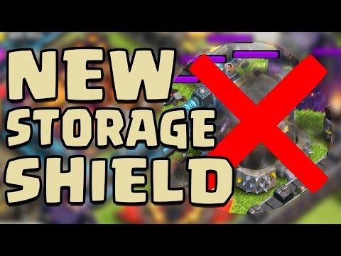 Clash Of Clans | STORAGES NOW HAVE SHIELD (NO MORE DE ZAPPING?) + DARK SPELL FACTORY