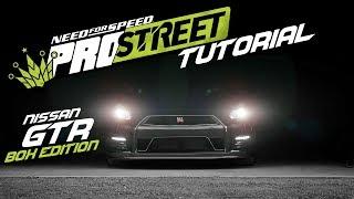 NFS PRO STREET - GTR R35 COVER TUTORIAL