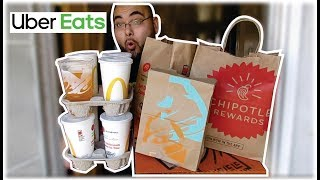 How much we made on UBER EATS in ONE DAY!