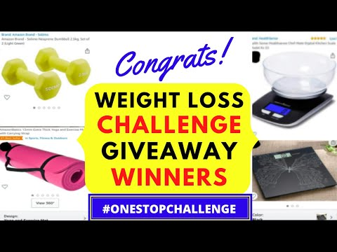 GIVEAWAY WINNERS ANNOUNCEMENT | WEIGHT LOSS CHALLENGE TAMIL WINNERS | #weightlossmotivationintamil