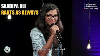 Rants as always | Standup comedy by Saadiya Ali