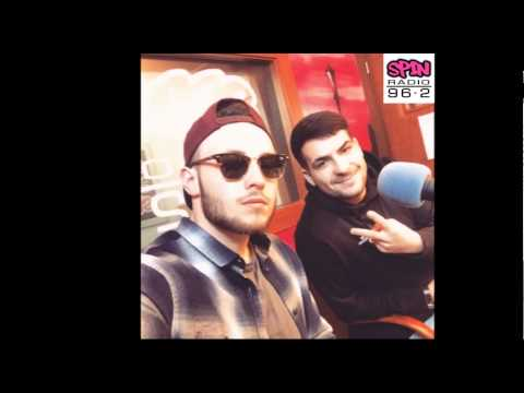ATMO music   Radio Spin   26 2 2015   LA LOCA   PRAHA   NA STŘEŠE MĚSTA   LIVE
