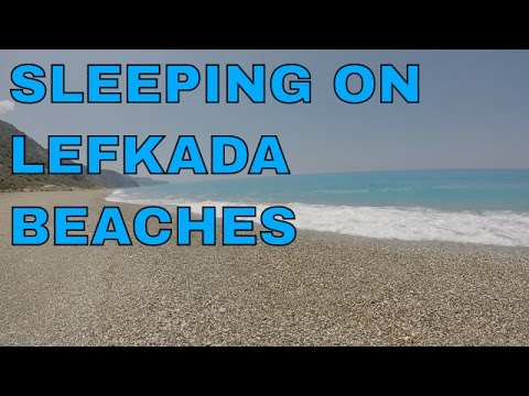 45 min Relaxing Lefkada waves sound - sound of the sea for s