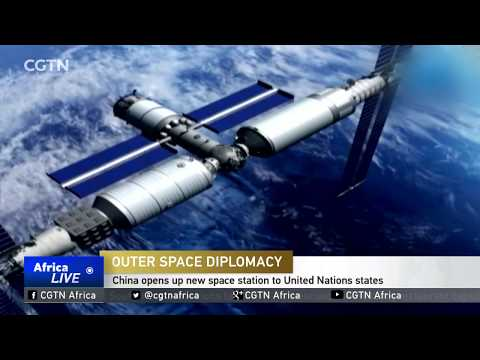 China opens up new space station to United Nations states