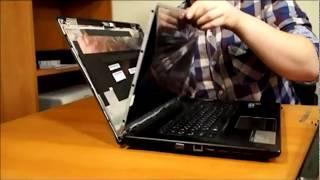 Как заменить монитор ноутбука (матрицу) за 10 минут