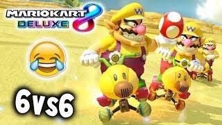 EL MITO CAÍDO VUELVE A MARIO KART 8 DELUXE COMPETITIVO   RK vs VR   6v6 CLAN WAR   Nintendo Switch