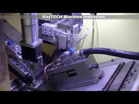 Kes Tech Innovation - CNC Pro Bar - Steering Tie Rod Machining