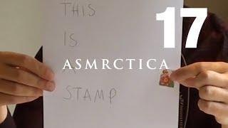 ASMR Multilingual - Learn Swedish - Teacher - Glasses - Beard scratching - Stamps