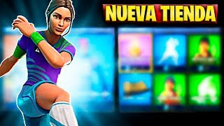 FORTNITE'S NEW STORE TODAY JUNE 1S. FOOTBALL AND GESTOS SKIN