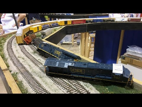 HO Scale CSX Model Train Compilation!