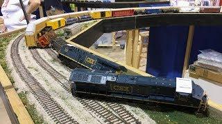 HO Scale CSX Model Train Compilation!