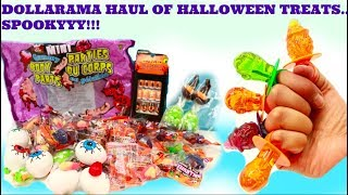 DOLLARAMA HAUL OF HALLOWEEN TREATS/CANDIES, HALLOWEEN TREATS IDEAS, HALLOWEEN TREATS FOR KIDS