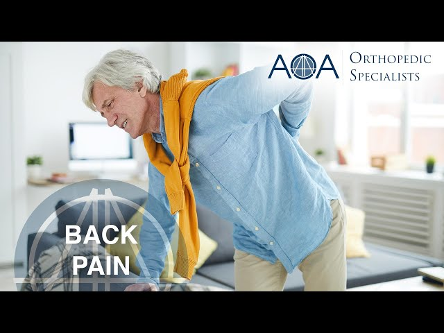 AOA Orthopedic Specialists on Good Morning Texas - Back Pain with Dr. Eric Wieser