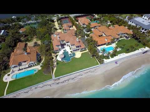 Palm Beach, Florida from Above - UHD 4K