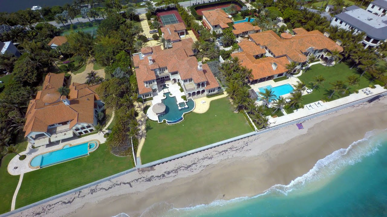 Palm Beach Florida From Above Uhd 4k