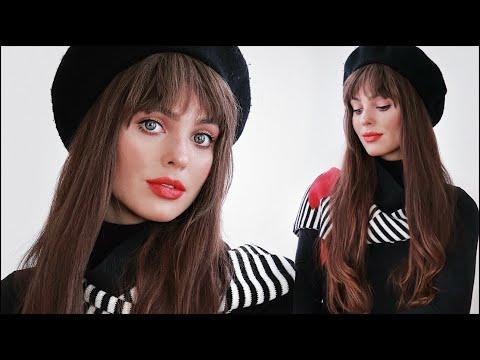 5 Minute French Girl Makeup Tutorial | Drugstore Makeup (LOreal X Karl Lagerfeld)