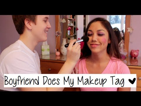 Boyfriend Does My Makeup Tag thumbnail