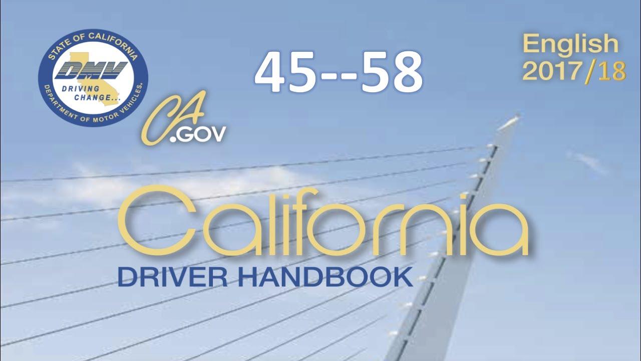 california driver handbook audio real voice dmv 45 58 rh youtube com Oregon Drivers License Test Questions Oregon Drivers License Test Questions