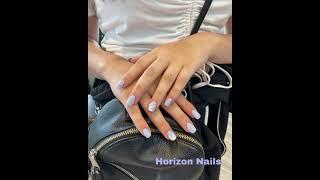 Lavender color Nails / 라벤더 칼라 …