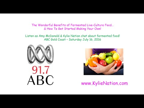 A Chat About Fermented Food with Amy McDonald - ABC Gold Coast (Radio Interview)
