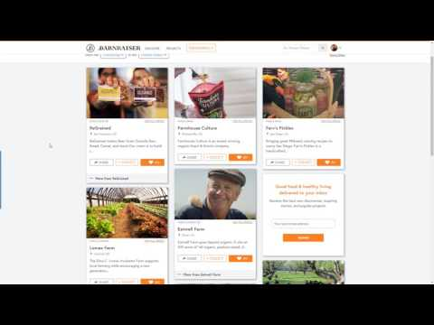 BarnRaiser.us Local food Sourcing Community Site Review