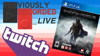 Shadow of Mordor & a Half (Part 1)