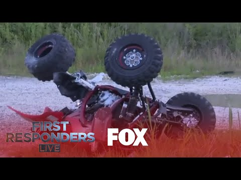 The Love Doctors - ATV Rider Runs From Cops, Gets Destroyed By Car, Is Ok!