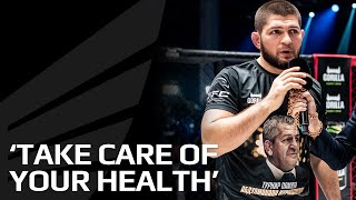 Берегите своё здоровье - Хабиб Нурмагомедов