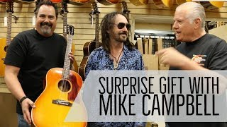 Mike Campbell searching for a 1965 Gibson J-45 ADJ | Norman's Rare Guitars