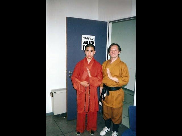 Sifu Walter Toch and Shaolin Monk Shi Xing Peng live on RTL television