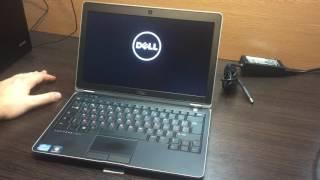 """Обзор Мощный ноутбук DELL Latiude E6230 12.5""""  i7 3520M 6GB RAM 120SSD"""
