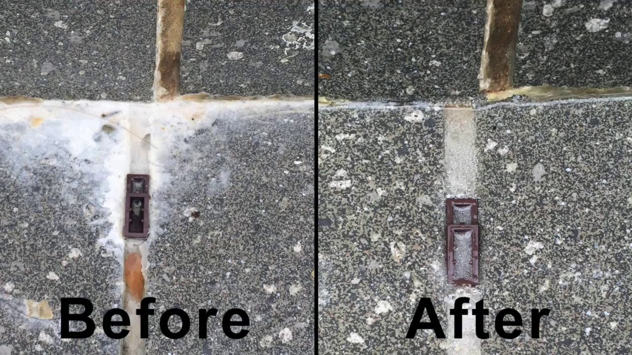 How to remove efflorescence  YouTube
