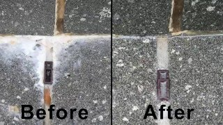 How to remove efflorescence