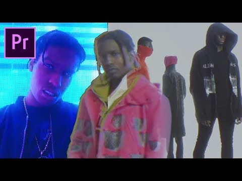 How to make a trippy ASAP ROCKY type MUSIC VIDEO (RAF / L$D)