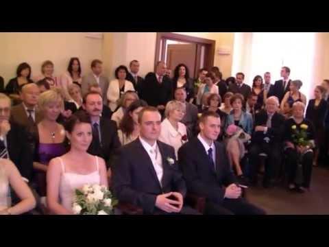 845a700efd Ślub cywilny cały w jednym ujęciu - YouTube