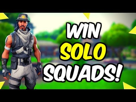 How To Improve At Solo Squad Tips And Tricks! - (Fortnite Battle Royale)