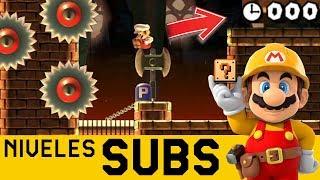 Por Dejar TODO para el ÚLTIMO SEGUNDO - Niveles de Suscriptores #31 | Super Mario Maker - ZetaSSJ